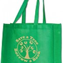 Save a Tree, Borrow a Book Tote Bag