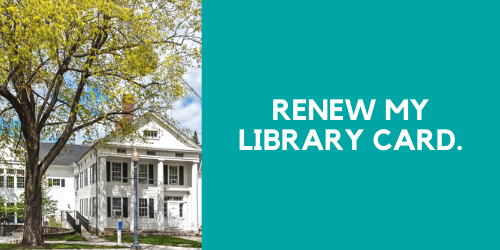 Renew my library card