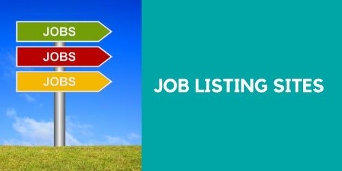 Job Listing Websites