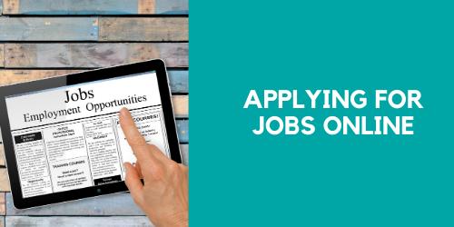 Applying for Jobs Online
