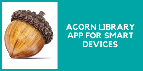 Acorn library app for smart devices
