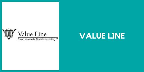 Value Line for stock information