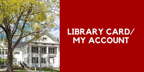 Library Card/My Account