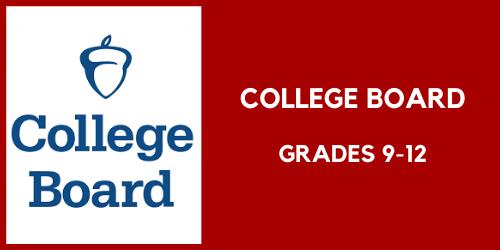 College Board, college resources for grades 9 through 12