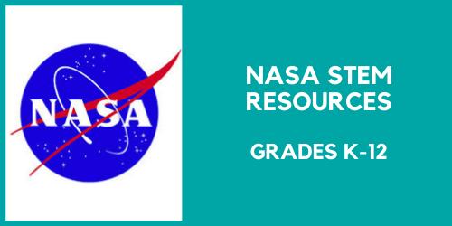 NASA STEM resources for grades K through 12
