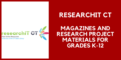 ResearchIt CT for magazines and research project materials for grades K through 12