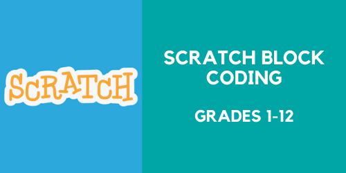 Scratch Block Coding lessons for grades 1 through 12