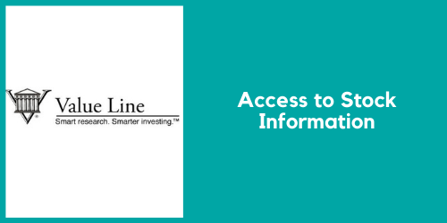 Value Line. Access to stock information.