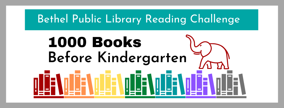 1000 Books Before Kindergarten Reading Challenge